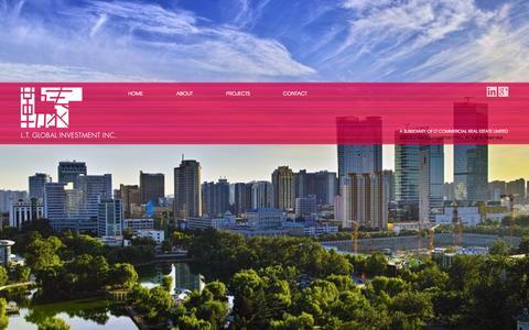 Screenshot of Home Page ltglobalinvest.com - LT Global Investment - captured Oct. 1, 2014
