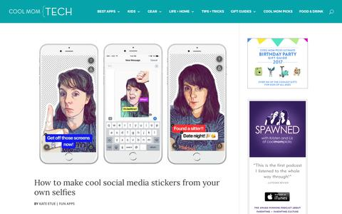 Fun Apps Archives   Cool Mom Tech