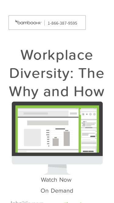 Workplace Diversity: The Why and How
