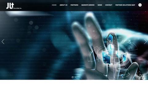Screenshot of Home Page jlt.net - Home - JLT and Associates - captured Nov. 17, 2016