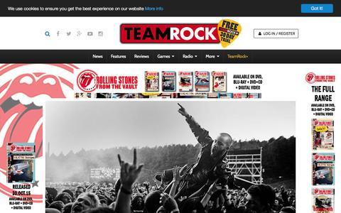 Screenshot of FAQ Page teamrock.com - TeamRock - captured Oct. 28, 2015