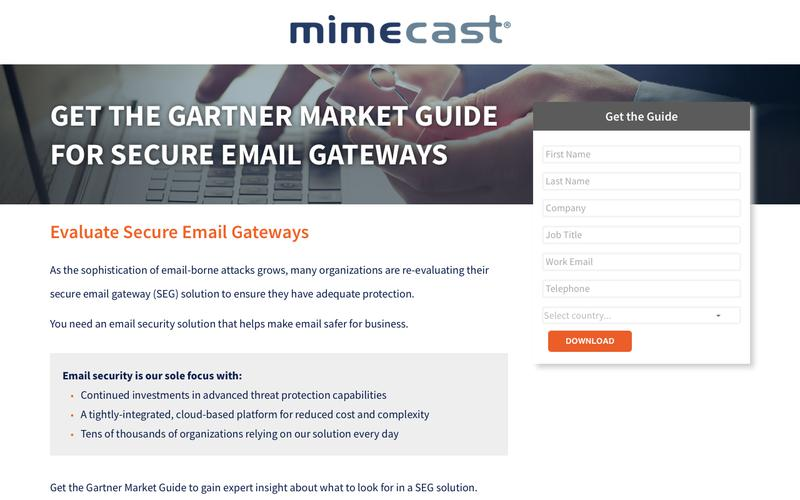 Mimecast | Spam Protection