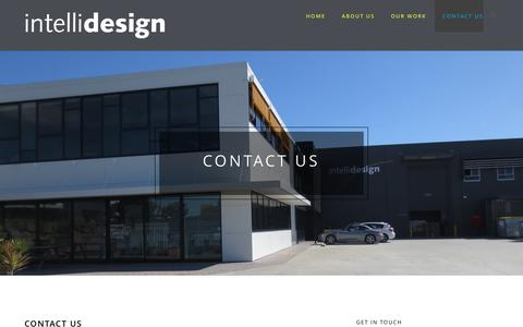 Screenshot of Contact Page intellidesign.com.au - Contact Us | Intellidesign I Smart Solutions | Electronic Design & Manufacturing Partner - captured June 7, 2017