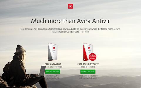 Avira AntiVir - Download the world's most trusted antivirus