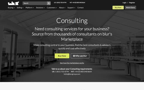 Business Innovation Consultancy | blur Group