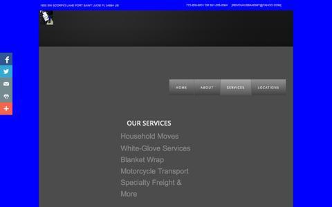 Screenshot of Services Page rentahusbandmt.com - Services - captured Oct. 26, 2014