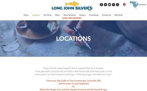 Screenshot of Locations Page ljsilvers.com - ljsilvers | Locations - captured Feb. 4, 2019