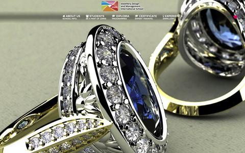 Screenshot of Home Page jdmis.edu.sg - Exceptional Jewellery Education - Jewellery Design and Management International School - captured Nov. 26, 2016