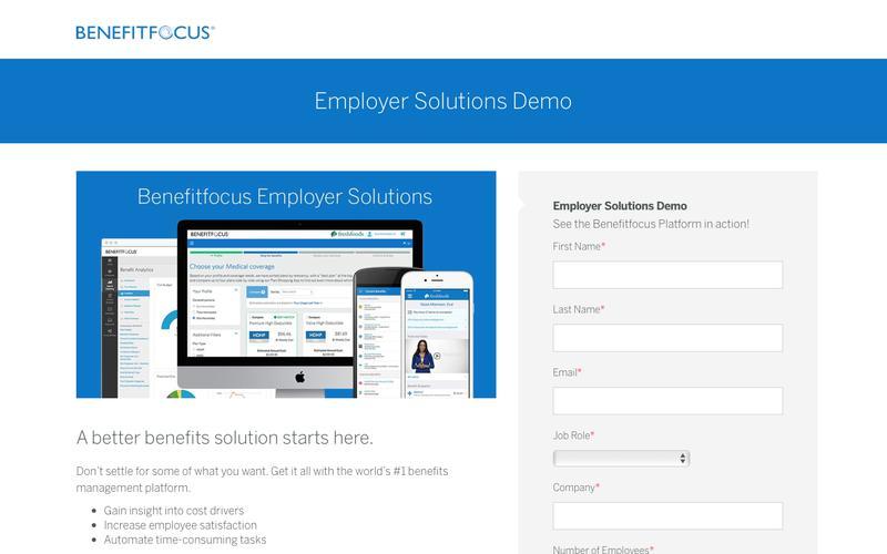 Employer Solutions Demo | Benefitfocus
