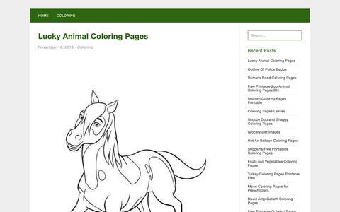 Screenshot of Home Page tallexpression.com - Tallexpression Coloring - Free coloring pages for kids - captured Nov. 16, 2018