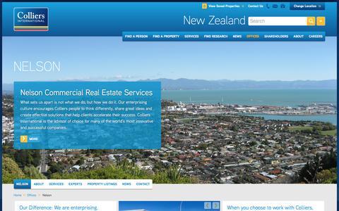 Nelson Office | New Zealand | Colliers International