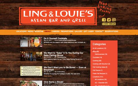 Screenshot of Blog lingandlouies.com - Blog | Ling & Louies - captured Sept. 29, 2018