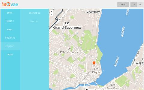 Screenshot of Maps & Directions Page agenceinovae.com - Meet us | Web Agency Drupal expert Geneva | Inovae - captured Oct. 6, 2014