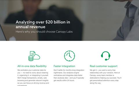 Why Canopy - Canopy Labs