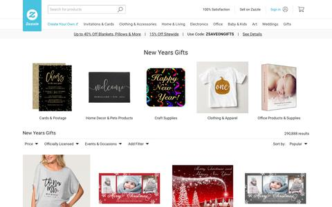New Years Gifts on Zazzle