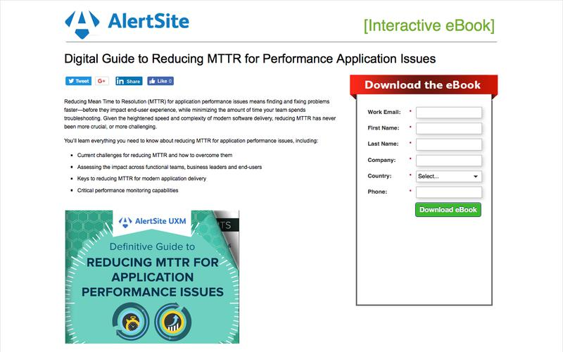 Digital Guide to Reducing MTTR