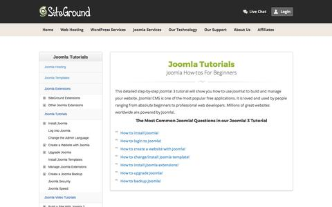 Joomla Tutorials