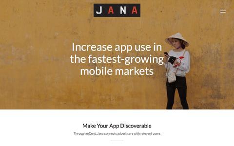 Jana | Product