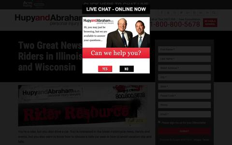 Screenshot of Signup Page hupy.com - Subscribe to Hupy and Abraham News! | Hupy and Abraham, S.C. - captured Sept. 5, 2017