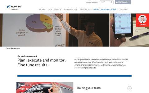 Screenshot of Team Page markvii.net - Car wash management - captured Oct. 16, 2018
