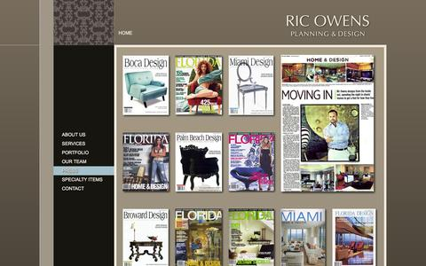 Screenshot of Press Page ricowens.com - Press - Ric Owens - Planning and Design - captured Oct. 1, 2014