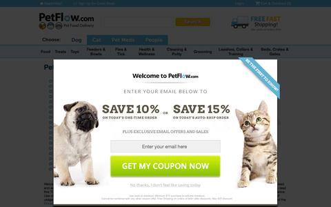 Screenshot of Terms Page petflow.com - Terms of Service   PetFlow.com - captured Nov. 17, 2015