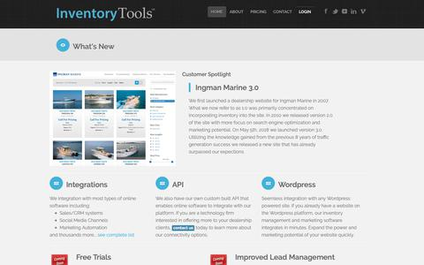 Screenshot of Press Page inventory-tools.com - Inventory Tools - About our Company and Services - captured Oct. 1, 2018