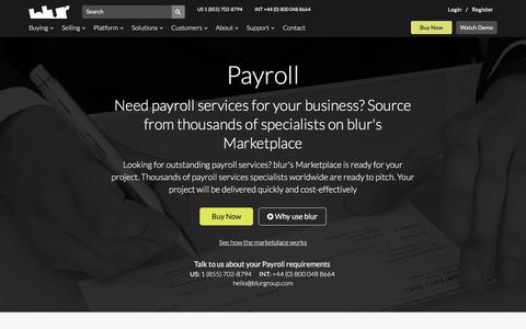 Payroll Services | blur Group