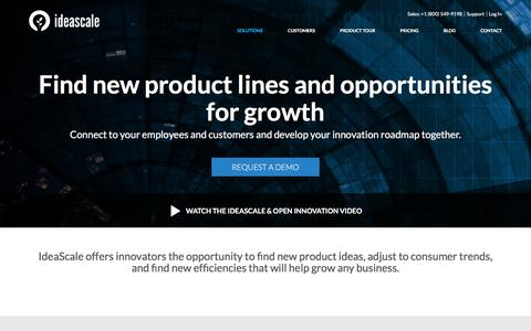 IdeaScale for Products - How to find new product lines