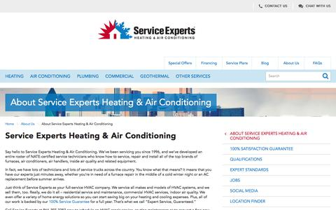 About Us | Service Experts in North America