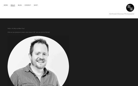 Screenshot of About Page 6thandburnside.com - HELLO — Sixth and Burnside - captured Oct. 4, 2014