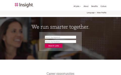 Jobs at Insight