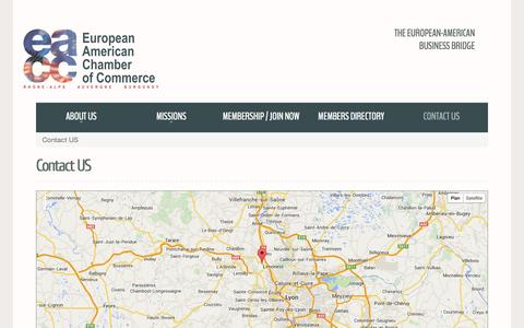 Screenshot of Contact Page eacc-ra.com - Contact US - captured Oct. 2, 2014