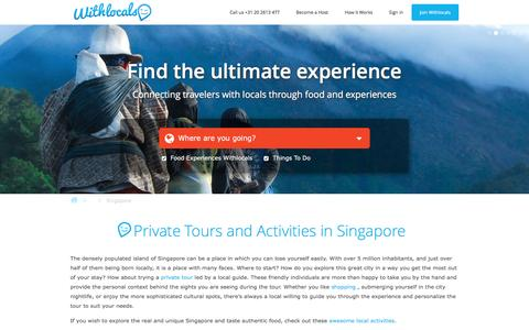 Tours Singapore - Private tours in Singapore with local guides