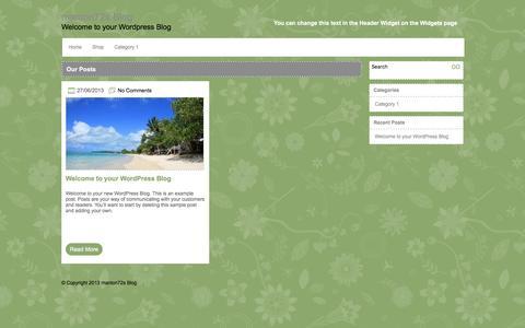 Screenshot of Blog slidewardrobesdirect.co.uk - manton72s Blog - captured Nov. 18, 2016