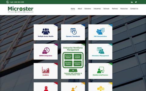 Screenshot of Privacy Page comopswfm.com - Microster Workforce Management - captured Oct. 2, 2014
