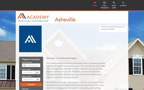 Asheville - Academy Mortgage Corporation