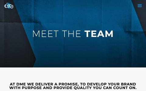 Screenshot of Team Page dmedelivers.com - Meet Our Team | DME Delivers - captured May 24, 2019
