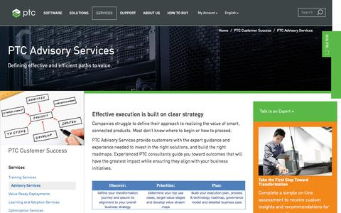 PTC Advisory Services | PTC