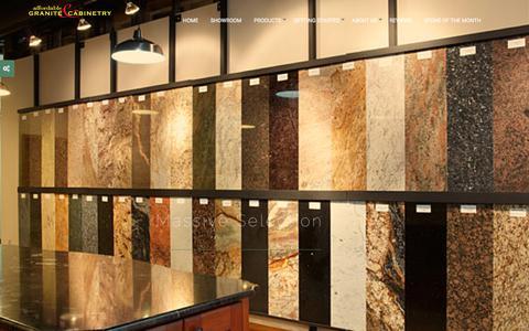 Screenshot of Home Page affordablemn.com - Home - Affordable Granite & Cabinetry - captured Oct. 7, 2017