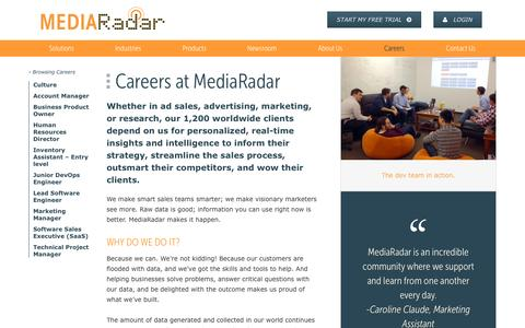 New York City Tech Careers  | MediaRadar