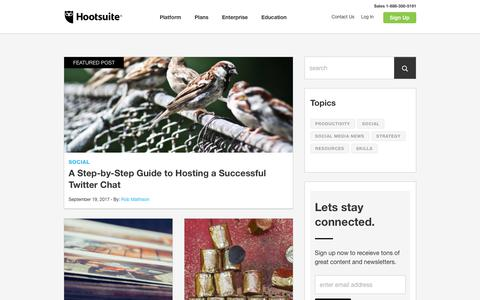 Hootsuite Social Media Management - Engage, Monitor, Collaborate and Analyze, Securely