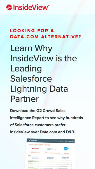 InsideView G2Crowd Sales Intelligence Comparison Report | Registration