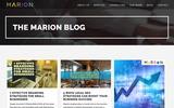 New Screenshot MARION Integrated Marketing Blog