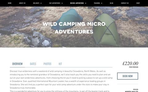 Wild camping micro adventures — Psyched Adventures