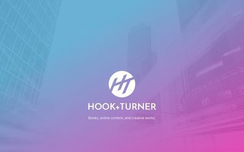 Screenshot of Home Page hookandturner.com - Hook+Turner - captured July 9, 2018