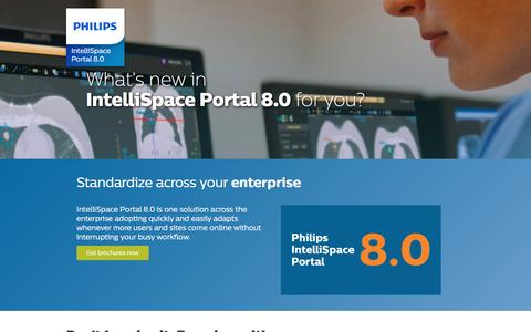 Screenshot of Landing Page philips.com - Standardize across your enterprise   Philips - captured Oct. 29, 2016