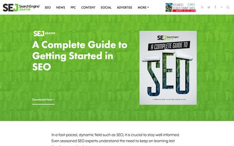 A Complete Guide to SEO | Search Engine Journal