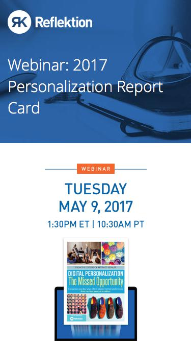 Webinar: Digital Personalization: The Missed Opportunity