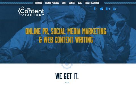 Digital PR, social media, content marketing | The Content Factory